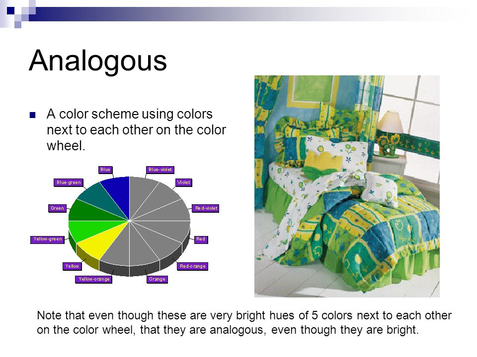 5 Analogous A Color