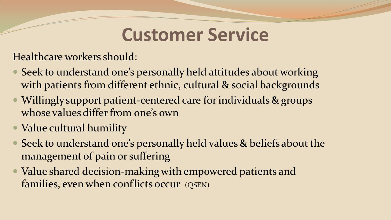 Customer & Client Services By Pat Reinhart RN. Customer and Client ...