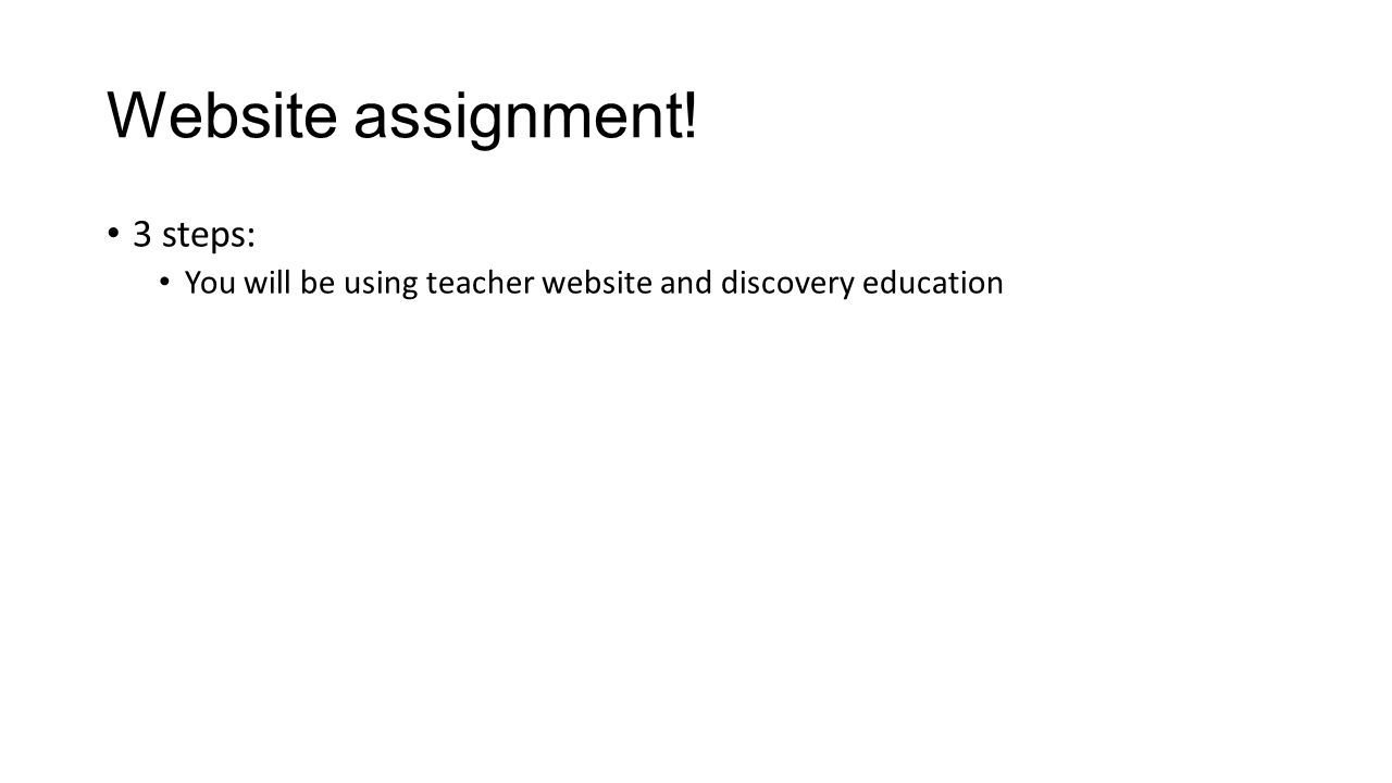 Assignment.discoveryeducation