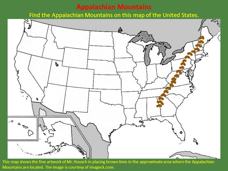 LEQ What Proclamation Said The US Would Trade With Both France - Appalachian mountains on a us map
