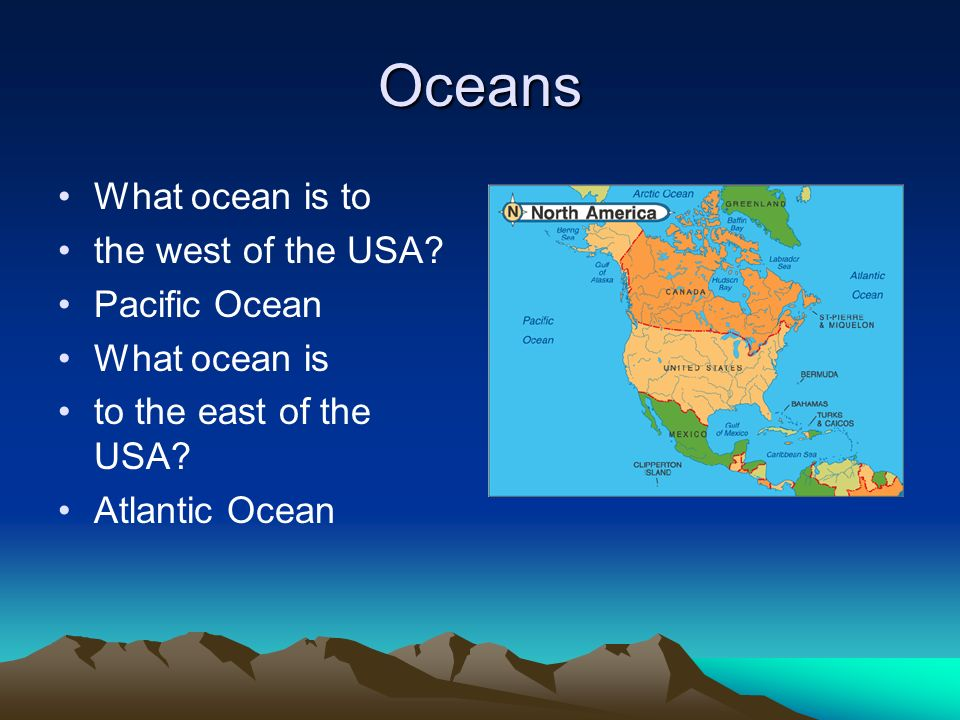 Mapping Skills By Mrs Moore Maps Have Important Features Maps - Usa map with oceans
