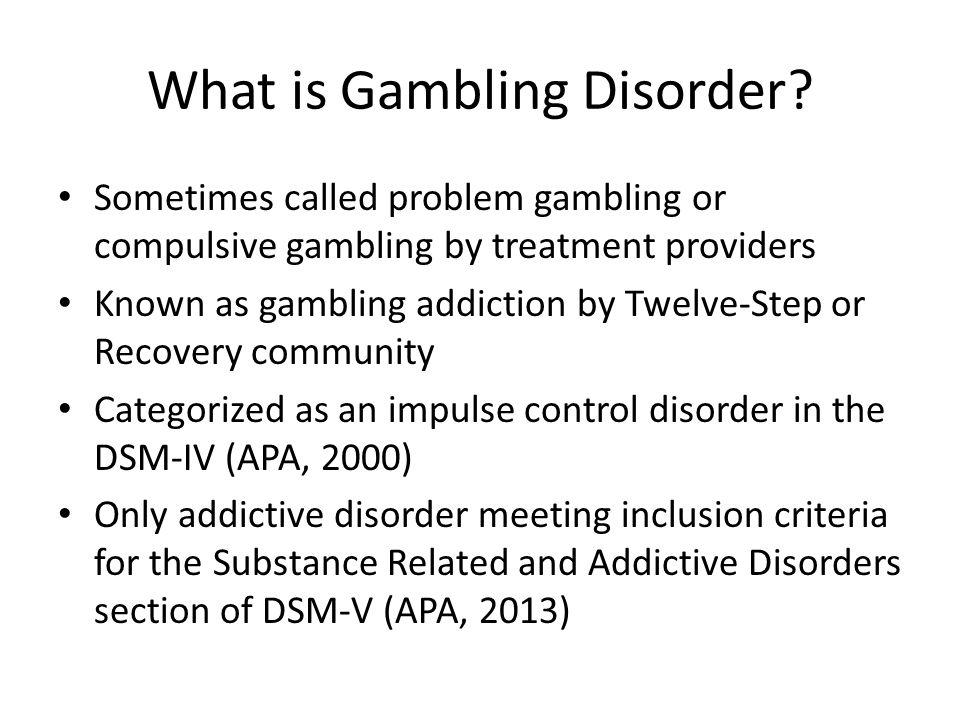 Dsm-iv problem gambling criteria gambling in the uk