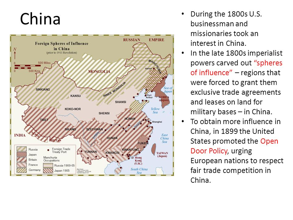 china during the 1800s u s businessman and missionaries took an interest in china