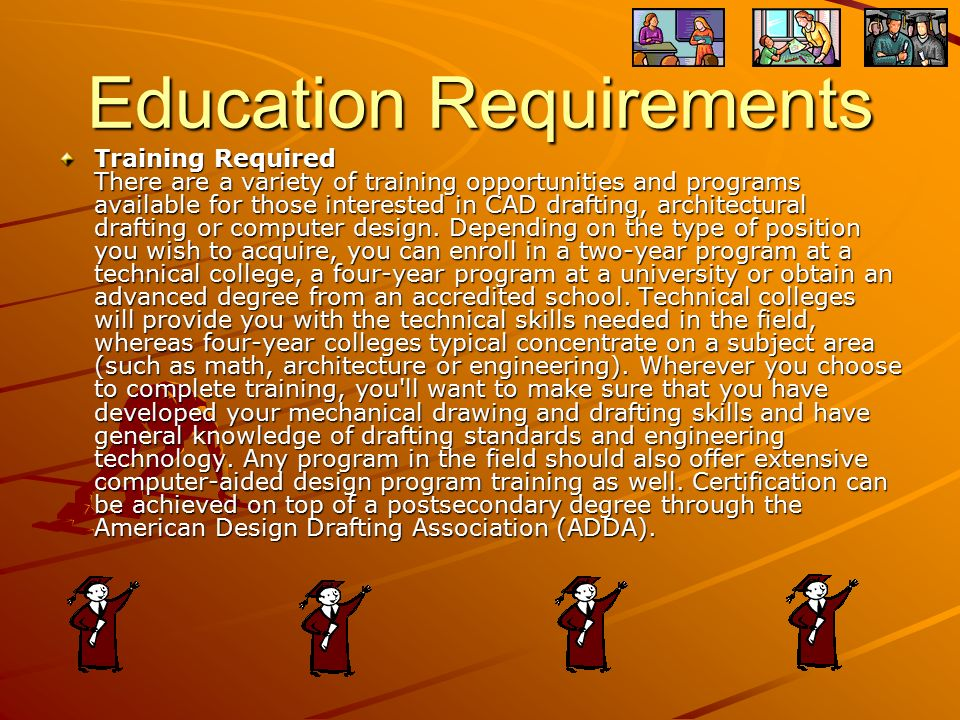 3 Education Requirements ...