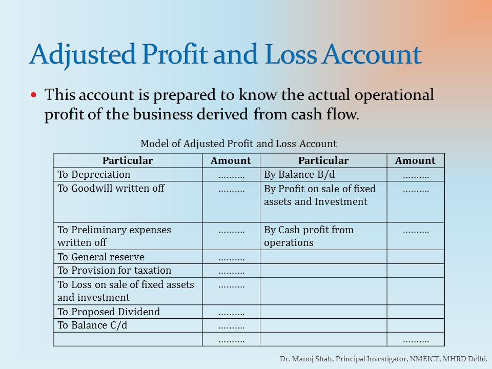 model of profit and loss account - Vatoz.atozdevelopment.co