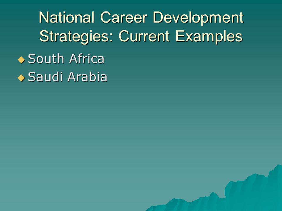 National lifelong career development strategies some parting 6 national career development strategies current examples south africa saudi arabia malvernweather Choice Image