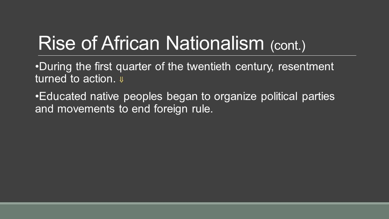 What are four ways that nationalism served as a signifcant political force in the 20th century?
