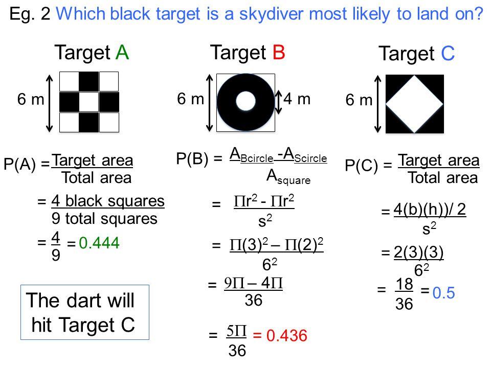 Lesson #5- Geometric Probability Lesson #38 Geometric Probability ...