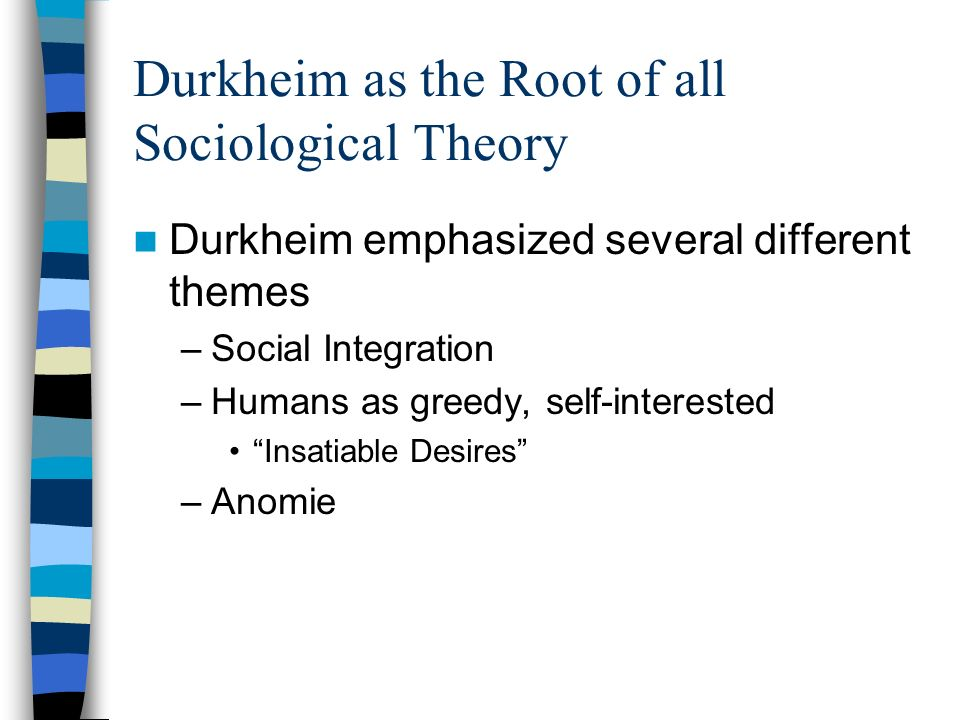 "an analysis of the labeling theory of french sociologist emile durkheim The french sociologist émile durkheim put forward a rare view of crime that using howard becker's labeling theory sociology is ""the scientific."