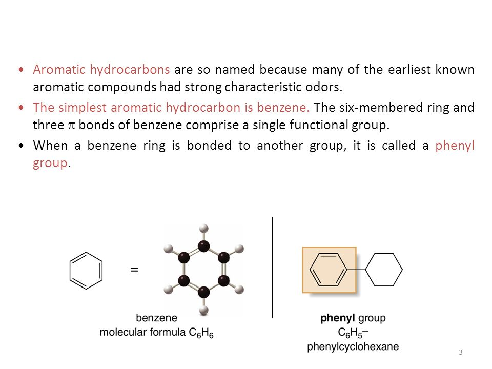 Naming aromatic hydrocarbons