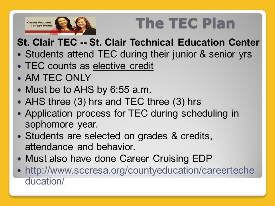 The TEC Plan St. Clair TEC -- St.