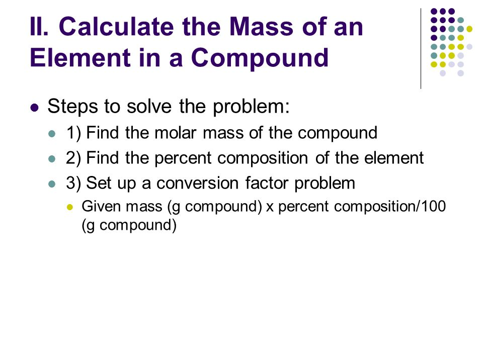 Math in chemistry percent composition purpose can be used to 10 ii ccuart Image collections