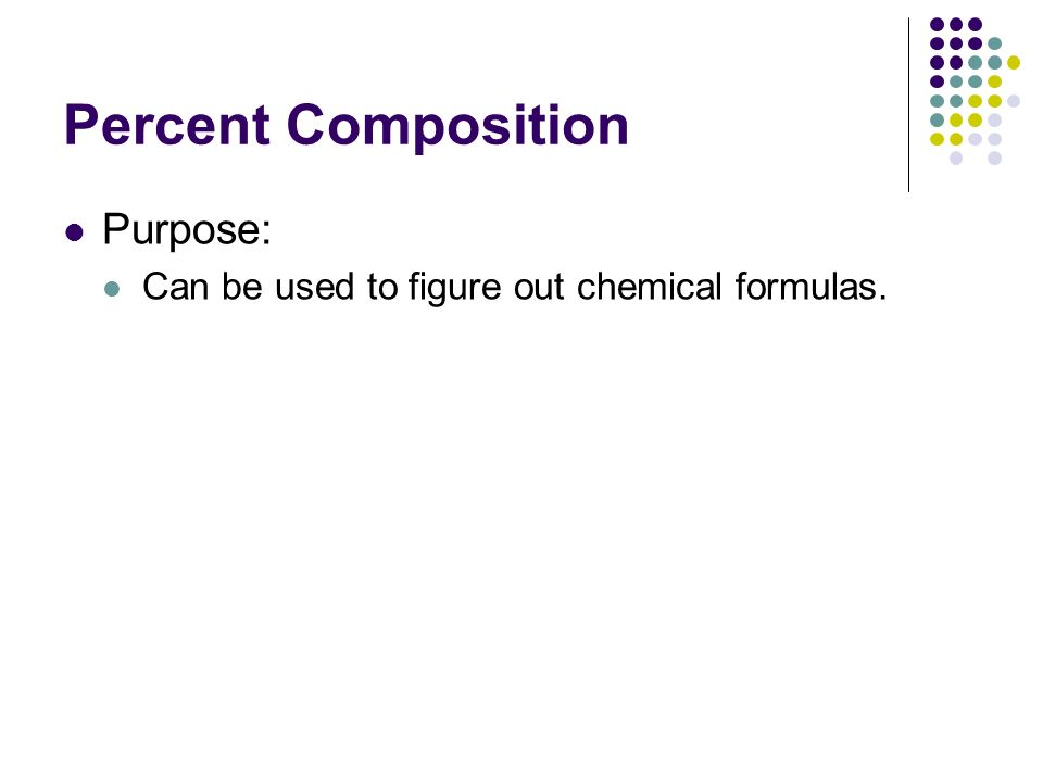Collection of Percent Composition And Chemical Formulas Worksheet ...