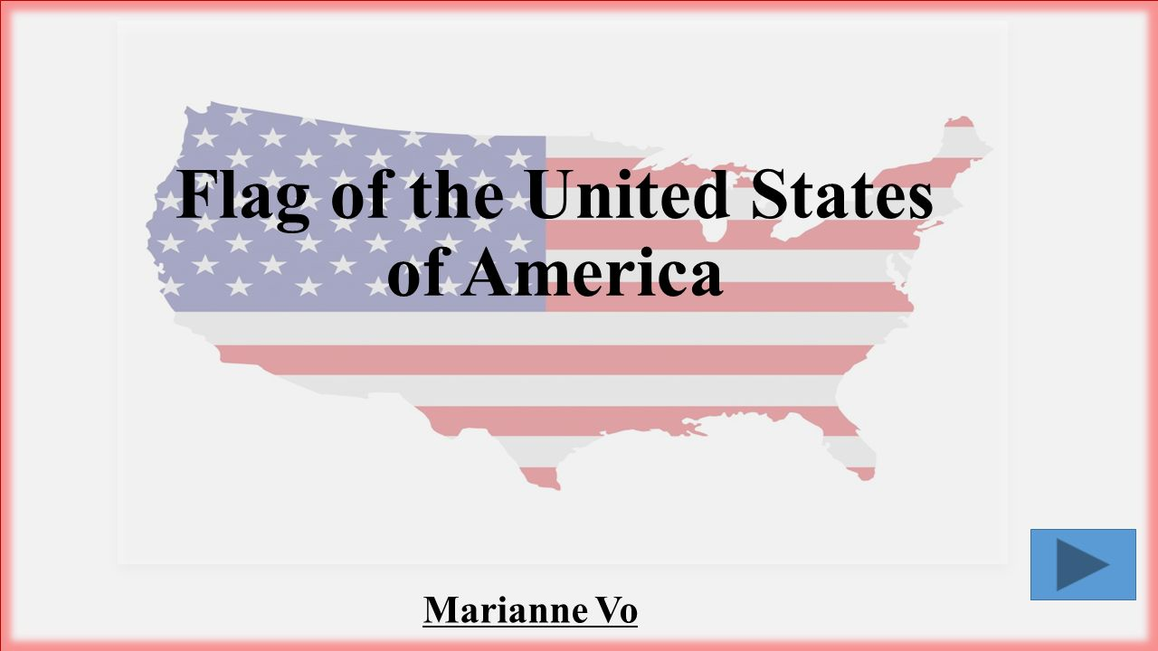 Marianne Vo Flag of the United States of America