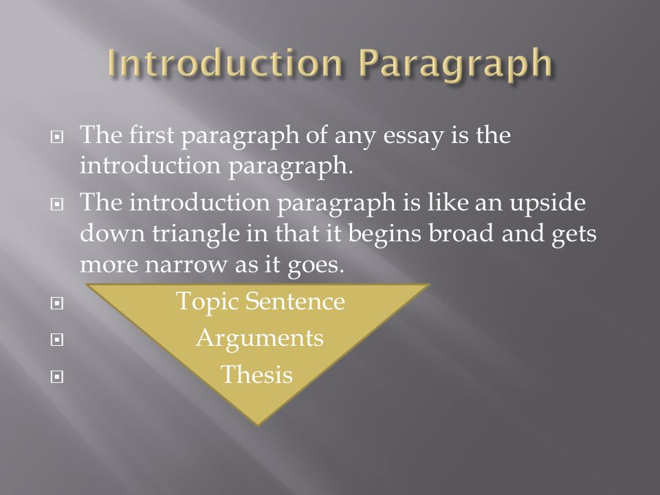 the first paragraph of any essay is the introduction paragraph the first paragraph of any essay is the introduction paragraph