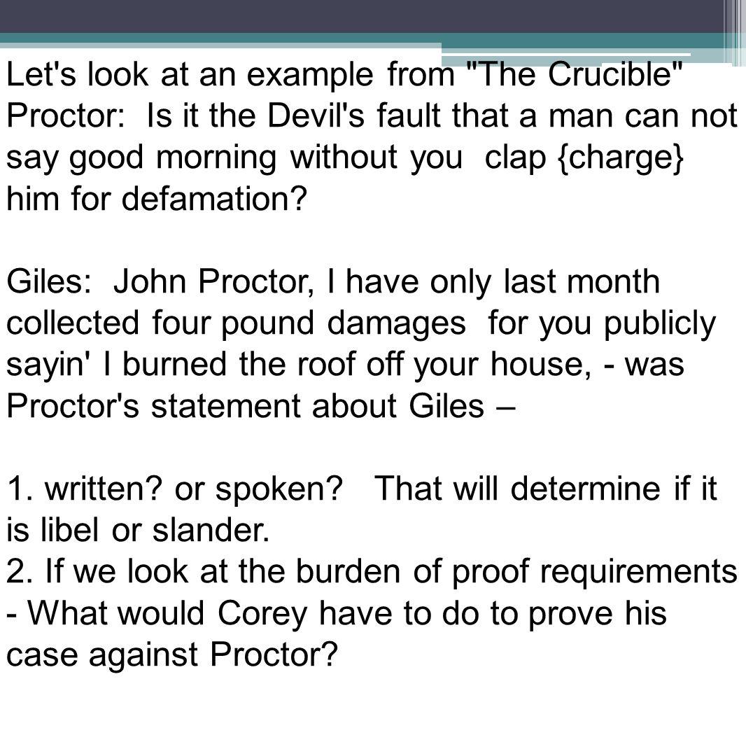 the crucible john proctor vs