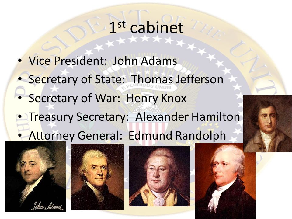 Washington's New Government. Elected President Unanimous decision ...