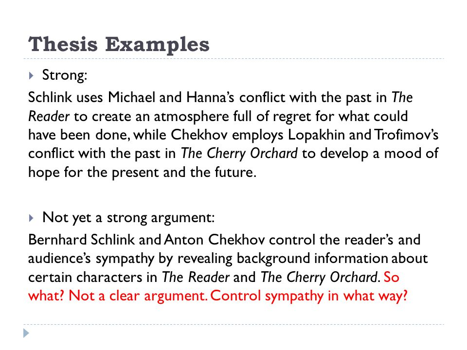 comparative essay recommendations you are in charge of your own  thesis examples  strong schlink uses michael and hanna s conflict the past in the