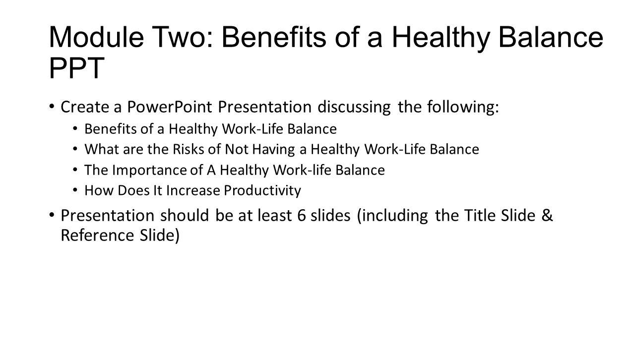 work life balance benefits