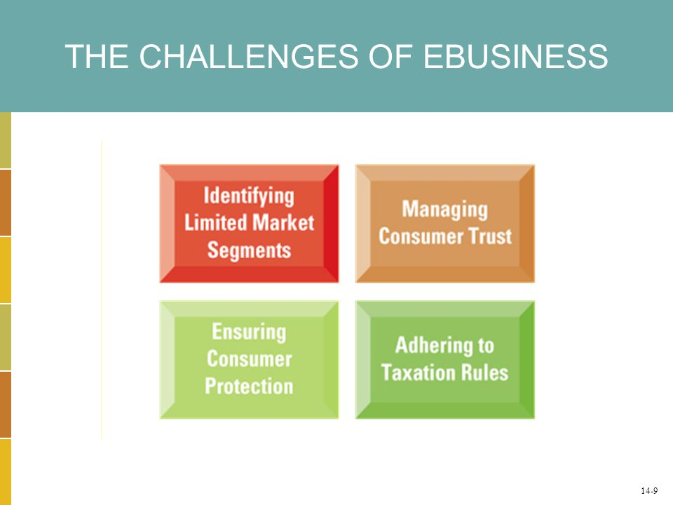 THE CHALLENGES OF EBUSINESS 14-9