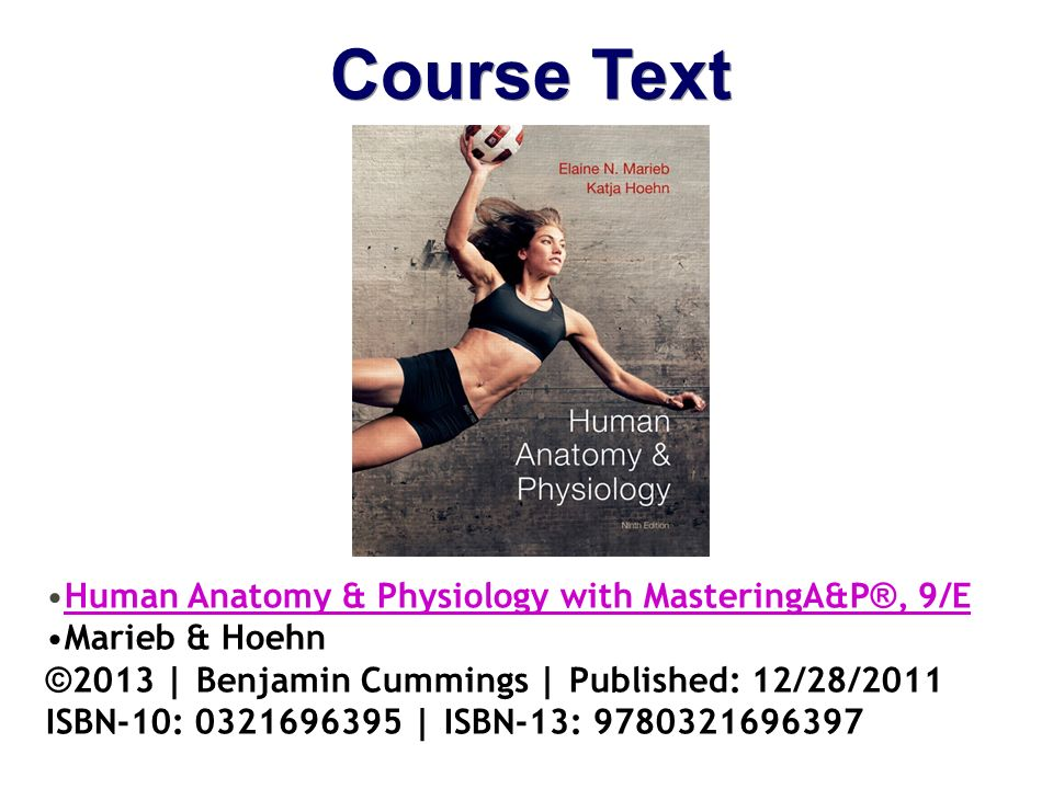 Charmant Human Anatomy And Physiology Book By Marieb Ideen ...