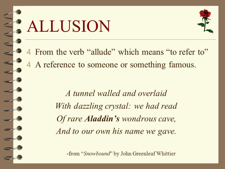 use allusion essay