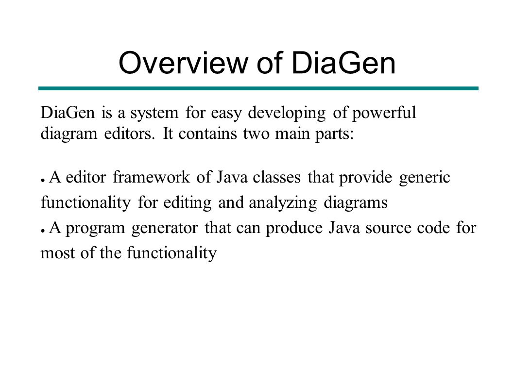 overview of diagen diagen is a system for easy developing of powerful diagram editors - Hasse Diagram Generator Online