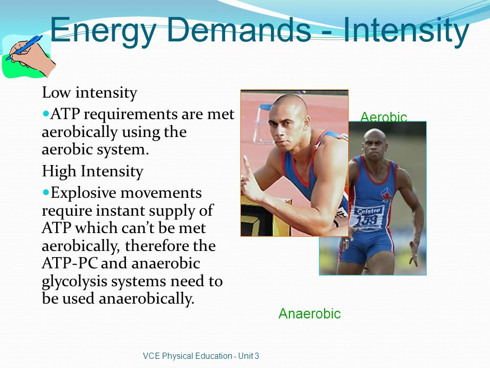 Characteristics of the Three Energy Systems