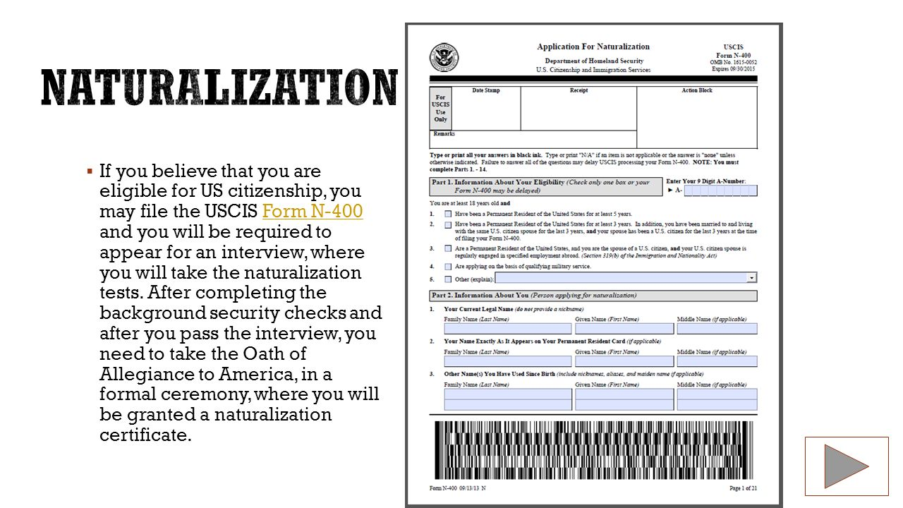 American citizen by nguyen vo content area social studies form n 400 if you believe that you are eligible for us citizenship you may file the falaconquin