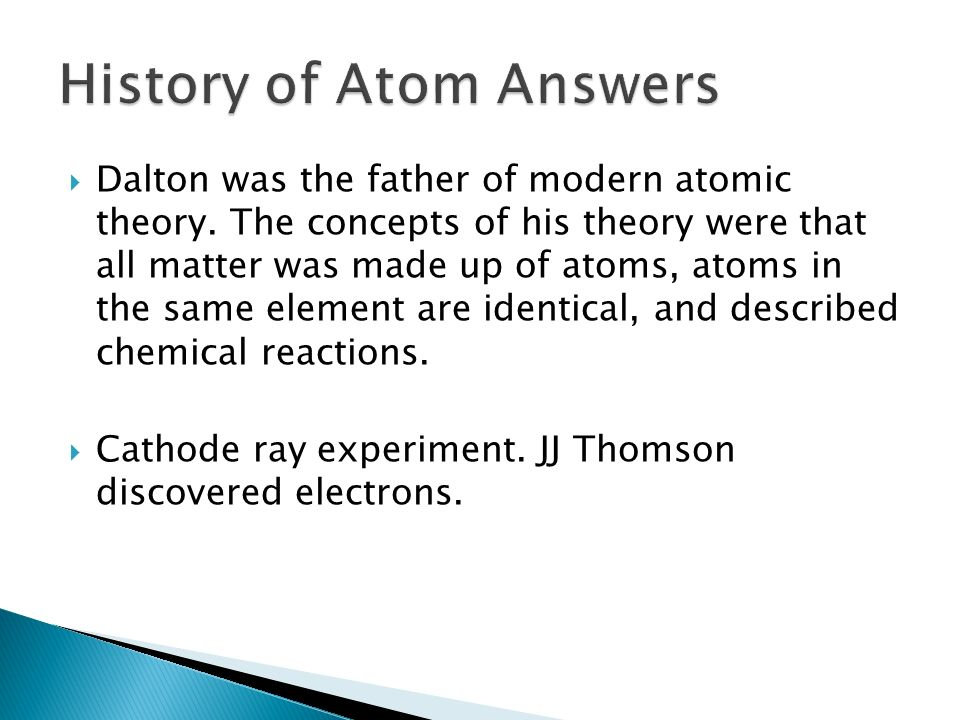 a biography of john dalton the chemist who developed the modern atomic theory Scientific contributions of john dalton john dalton (1766-1844), was a british chemist and physicist, who developed the atomic theory upon which modern physical science is based.