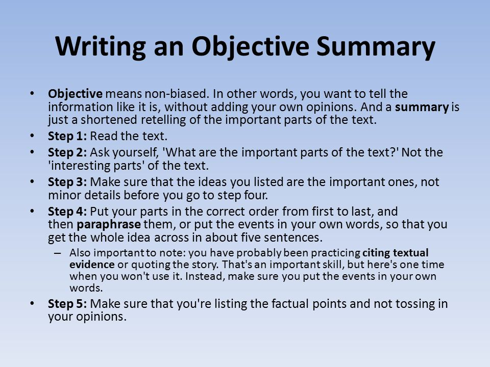 objectives for writing an essay Writing an effective objective statement is tough to make it easier, we have listed 50 objective statements from actual job seekers you.