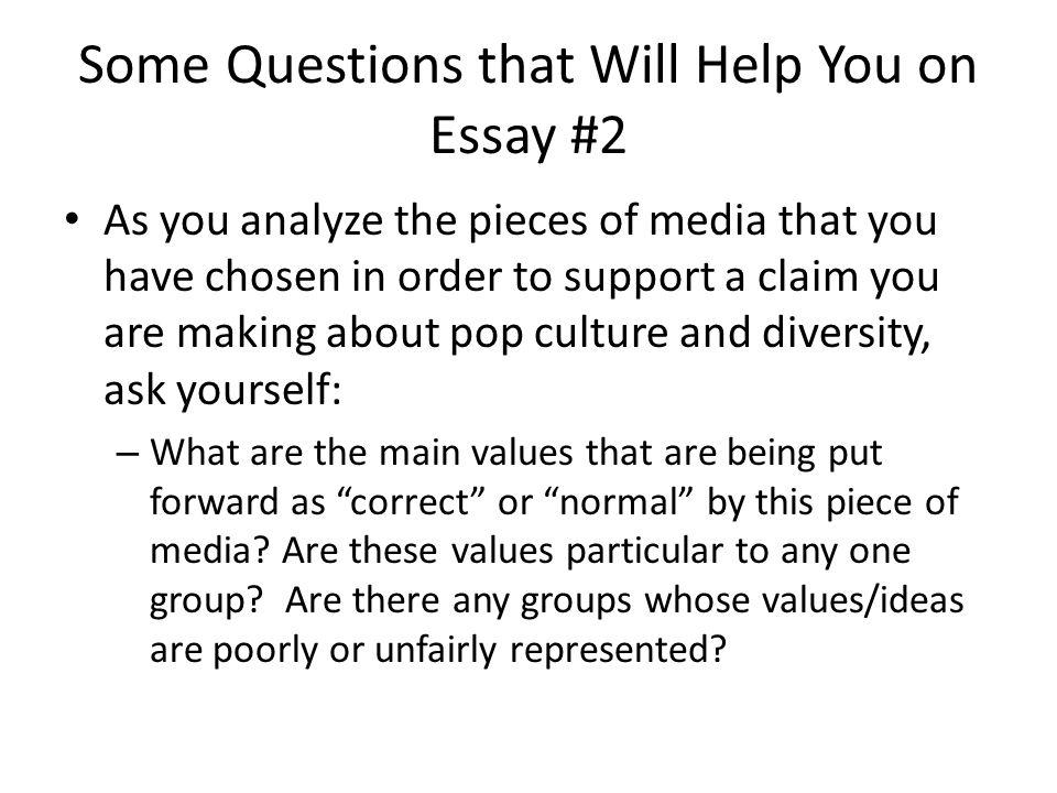"pop culture diversity and representation ""tv diversity whose  some questions that will help you on essay 2 as you analyze the pieces of"
