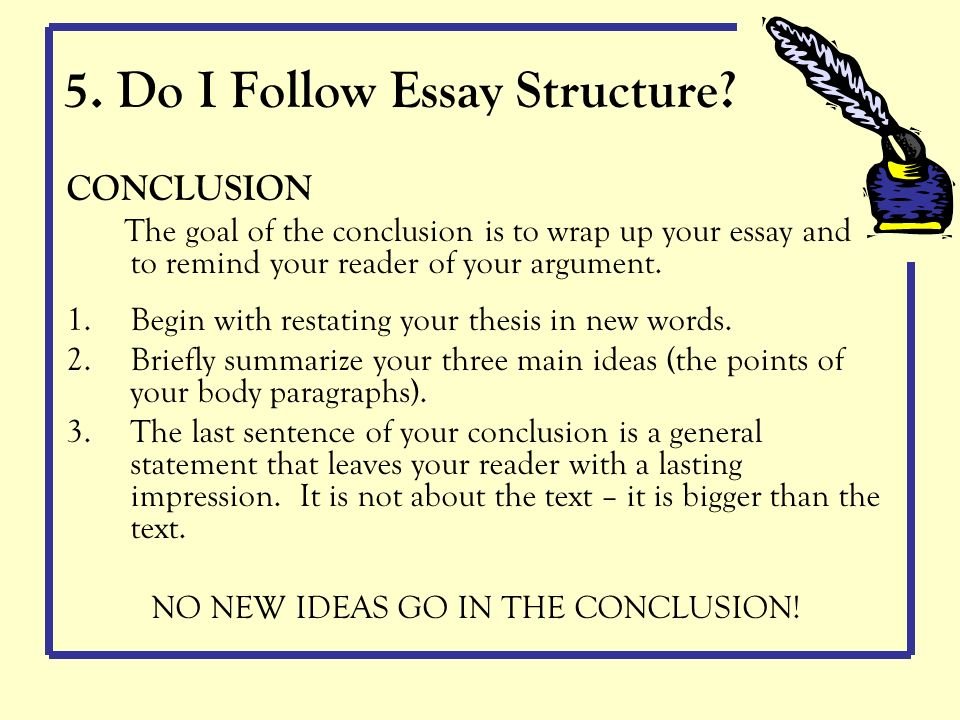 How To Write Conclusion For Assignment