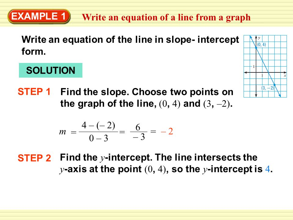 Writing An Equation Of A Line Term Paper Academic Writing Service