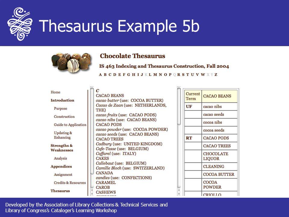 Controlled Vocabulary & Thesaurus Design Associative Relationships ...