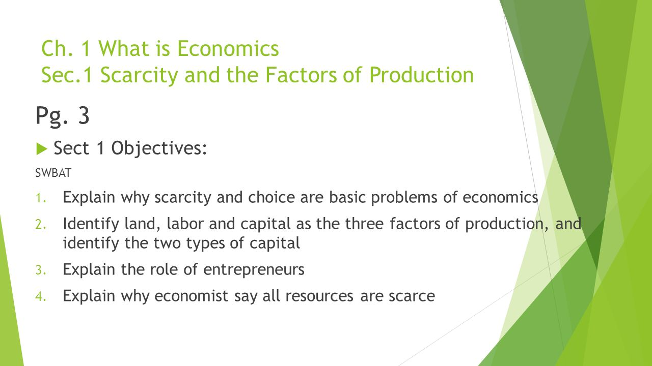 econ chapter 3 notes