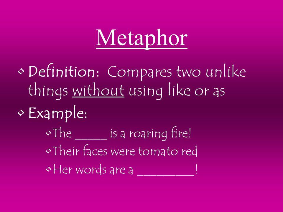 Figurative Language Definition: Writing that uses hyperbole ...