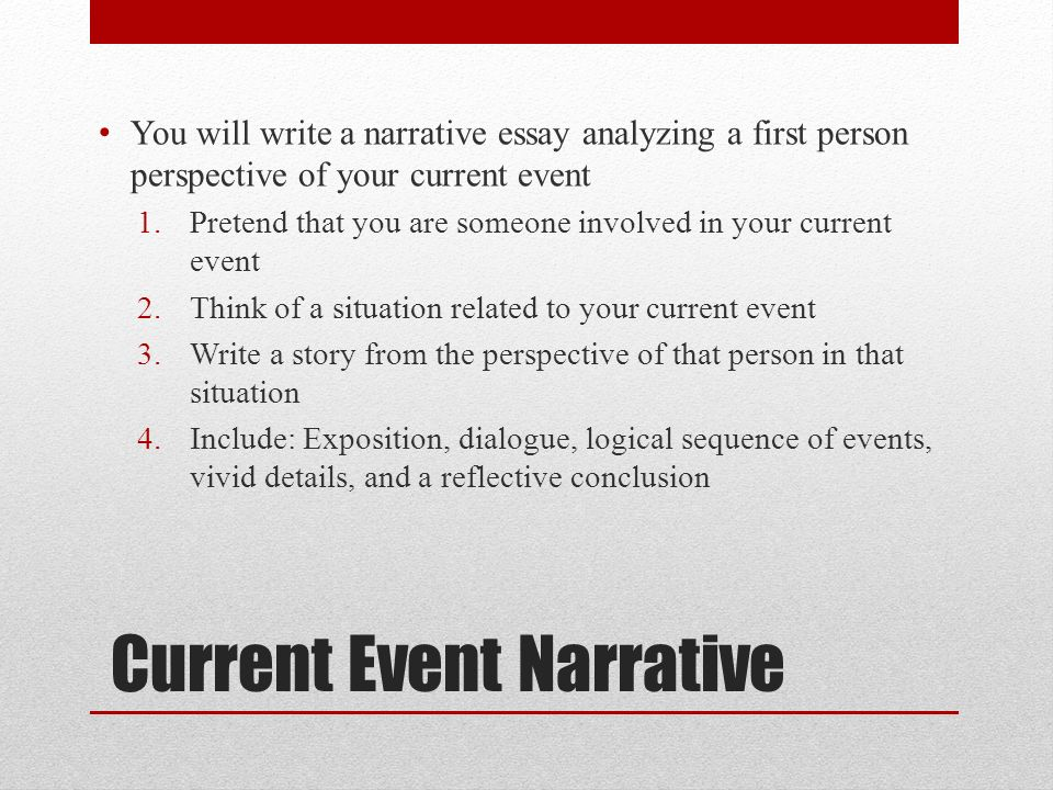 write descriptive essay event