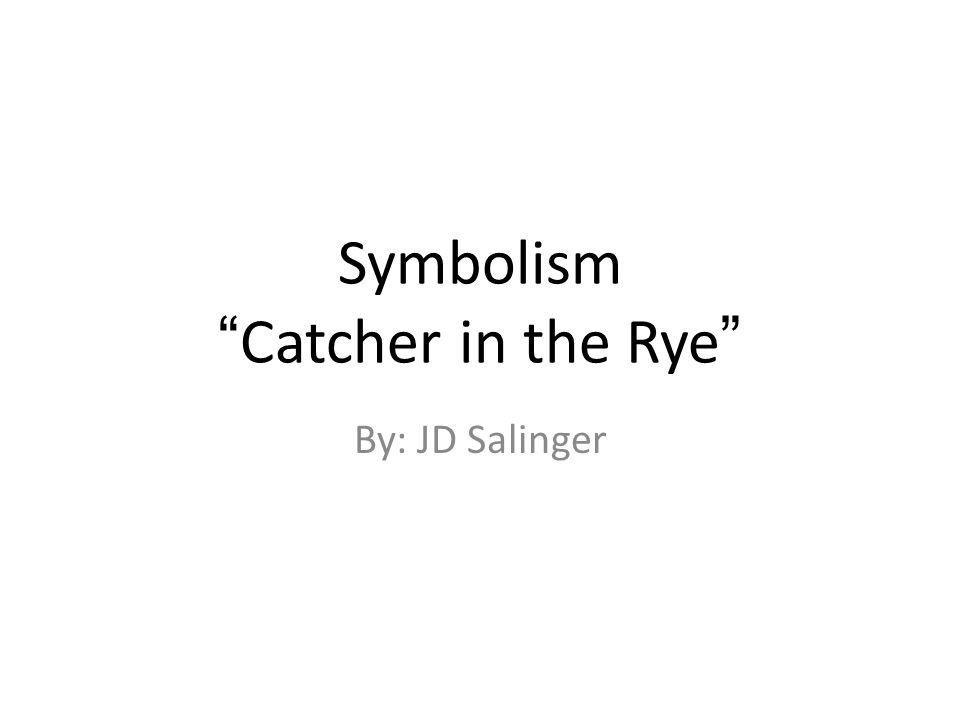 Catcher in the Rye literary analysis topic?