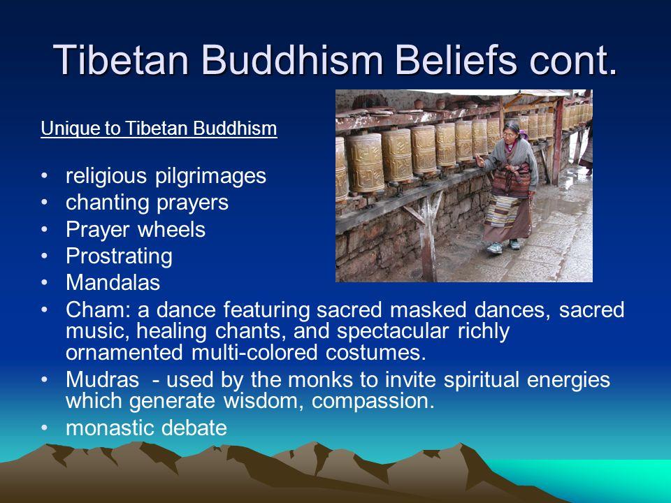 Tibetan Buddhism Beliefs cont.