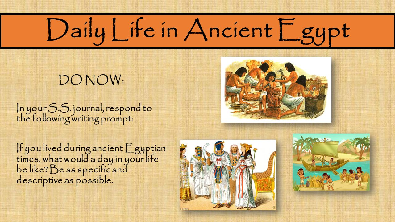 life in ancient egypt essay Essay: ancient egypt yet the museum downplays the daily life of the ancient egyptians by pushing although the ancient egypt exhibit preserves a good.