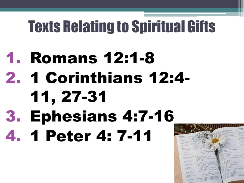 Understanding and using spiritual gifts for ministry mission by 17 the gifts in scripture negle Images