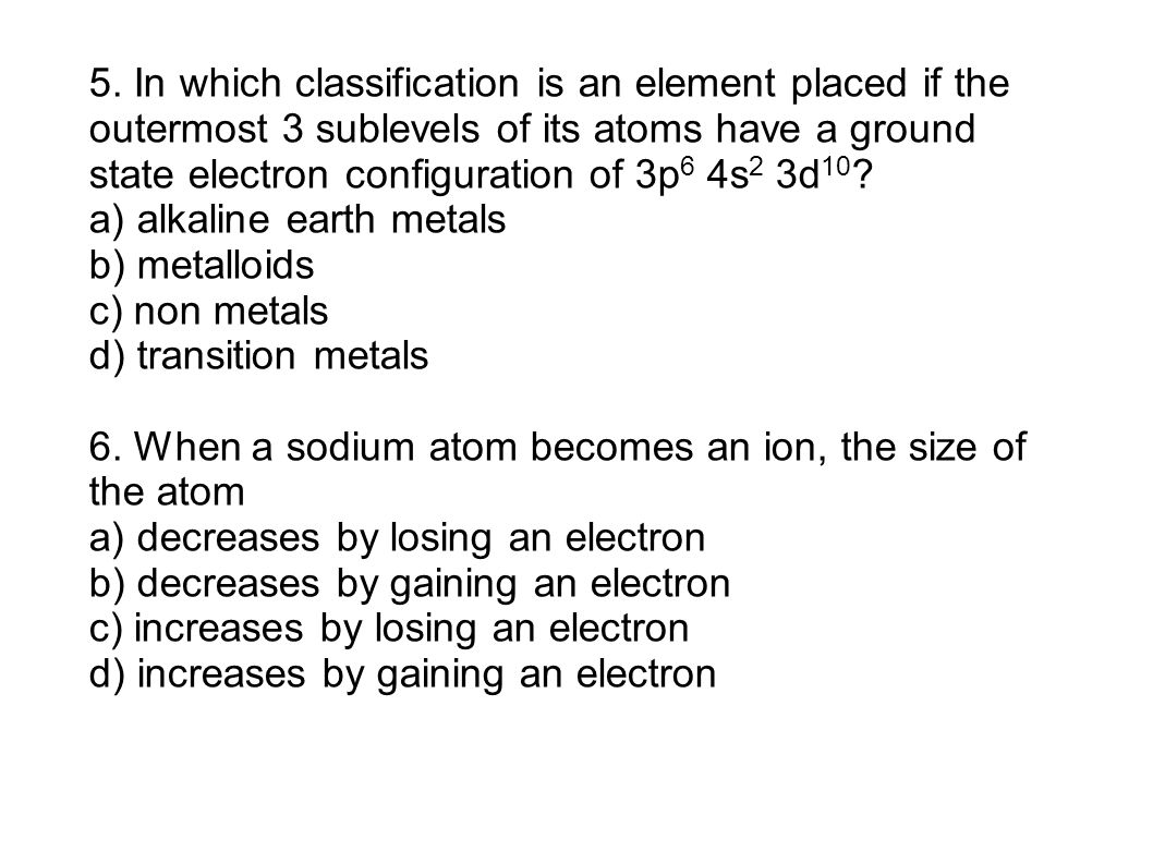 Electron configuration practice worksheet 2