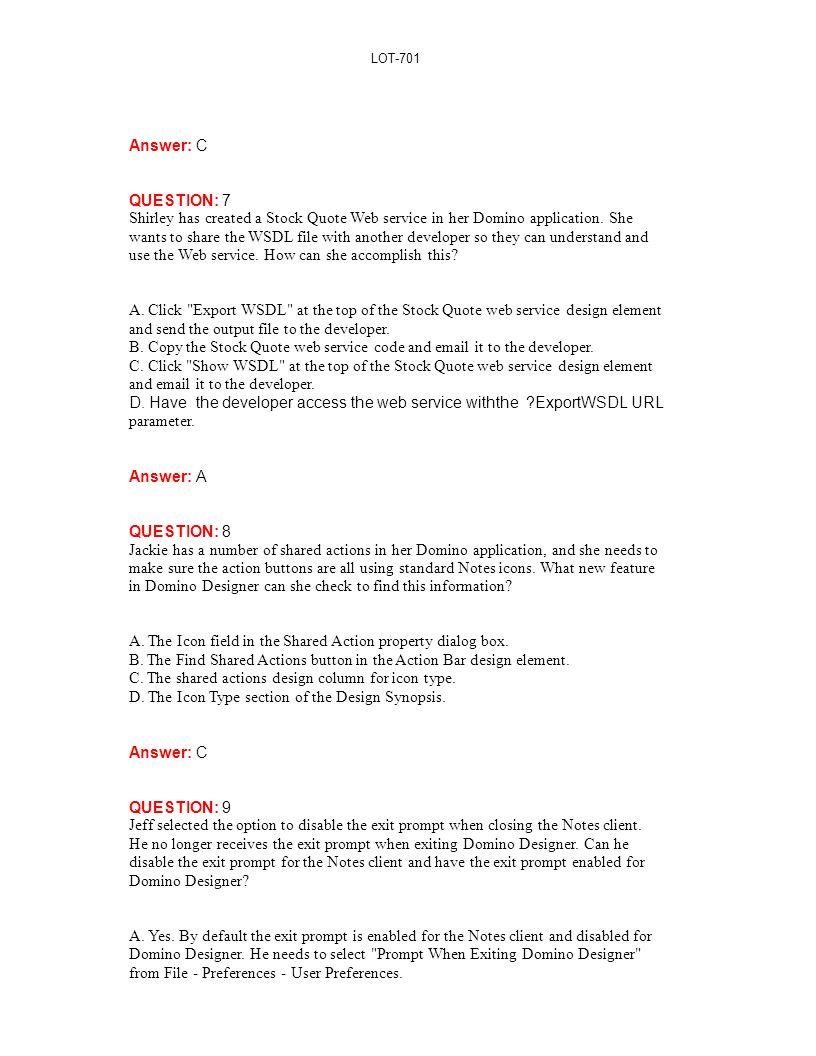 C Stock Quote Lot701 Ibm Ibm Lotus Notes Domino 7 Application Development