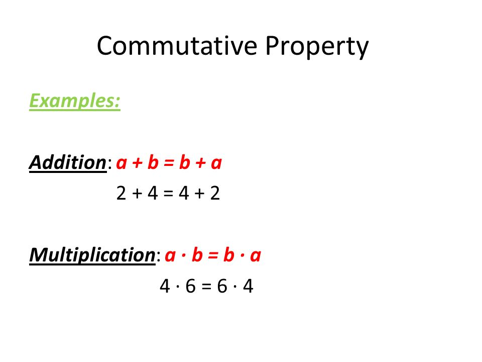 SPONGE. Properties of Addition and Multiplication. - ppt download