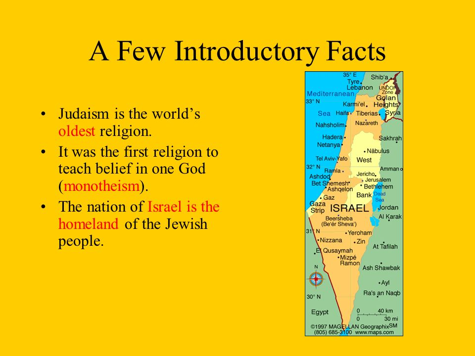 WORLD RELIGIONS JUDAISM Trace Islams Historical Connections - Oldest religion