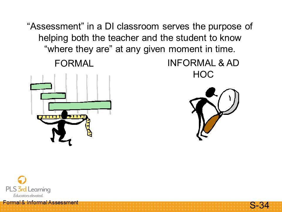 Formal  Informal Assessment Modules  Powerpoint Slides Reading
