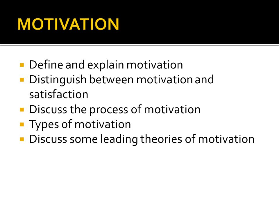  Intrinsic Motivation  Status  Authority  Challenging job  Participation in decision-making