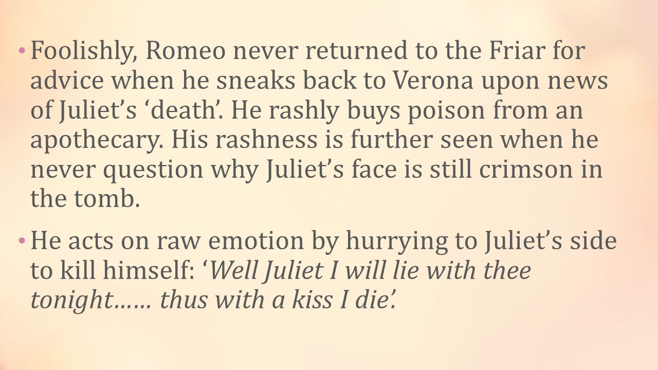 cliffsnotes romeo and juliet
