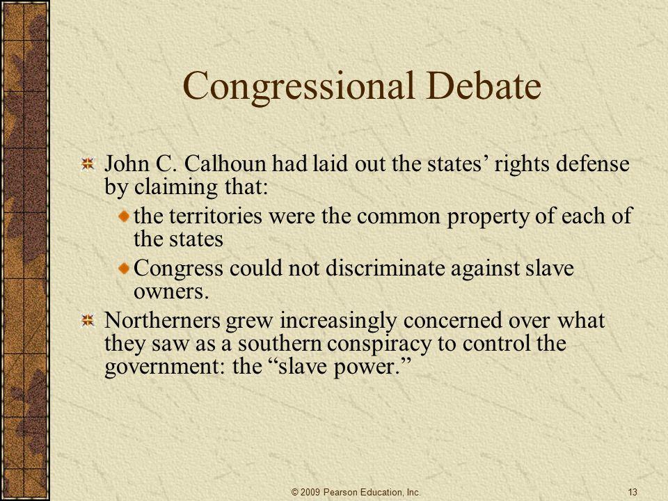 Congressional Debate John C.